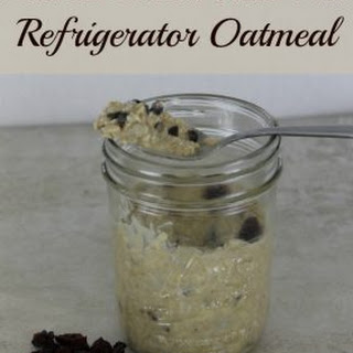 Peanut Butter Trail Mix Refrigerator Oatmeal