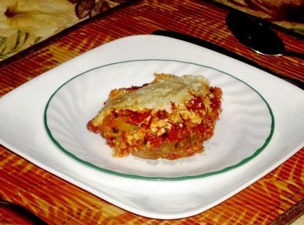 Eggplant Romano Recipe