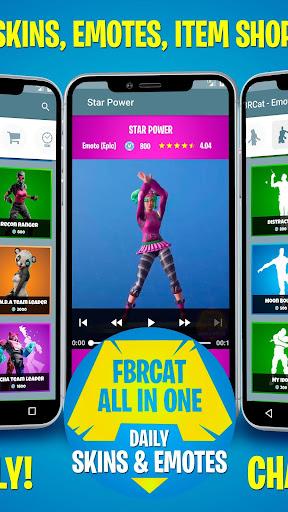 Battle Royale Skins, Emotes & Daily Shop - FBRCat screenshot 2