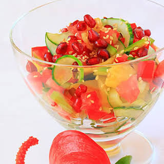 A Fresh Idea For Exotic Salad.
