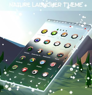 Nature Launcher Theme - náhled