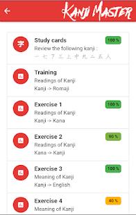 Kanji Master for PC-Windows 7,8,10 and Mac apk screenshot 3