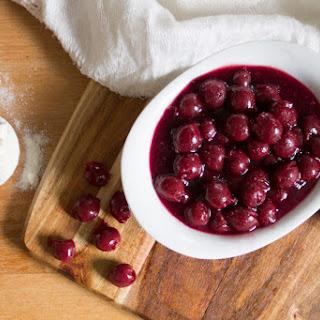Sour Cherry Sauce Recipes