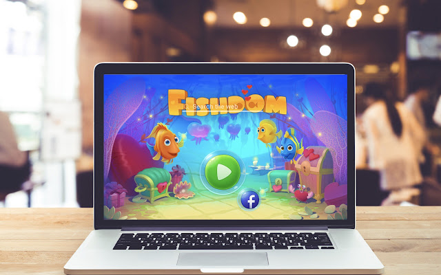 Fishdom HD Wallpapers Game Theme