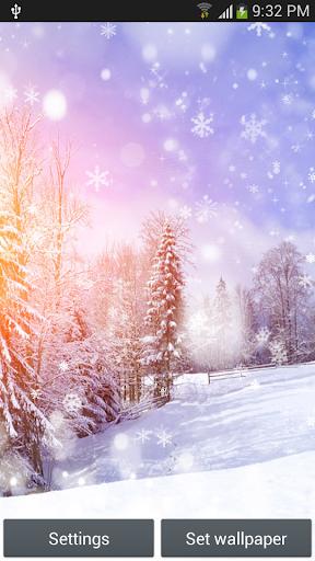 雪动态壁纸