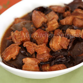 Hakka Braised Pork with Black Fungus (Char Yoke)