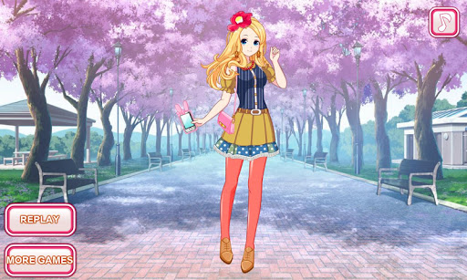 Anime dress up game 1.0.0 screenshots 4