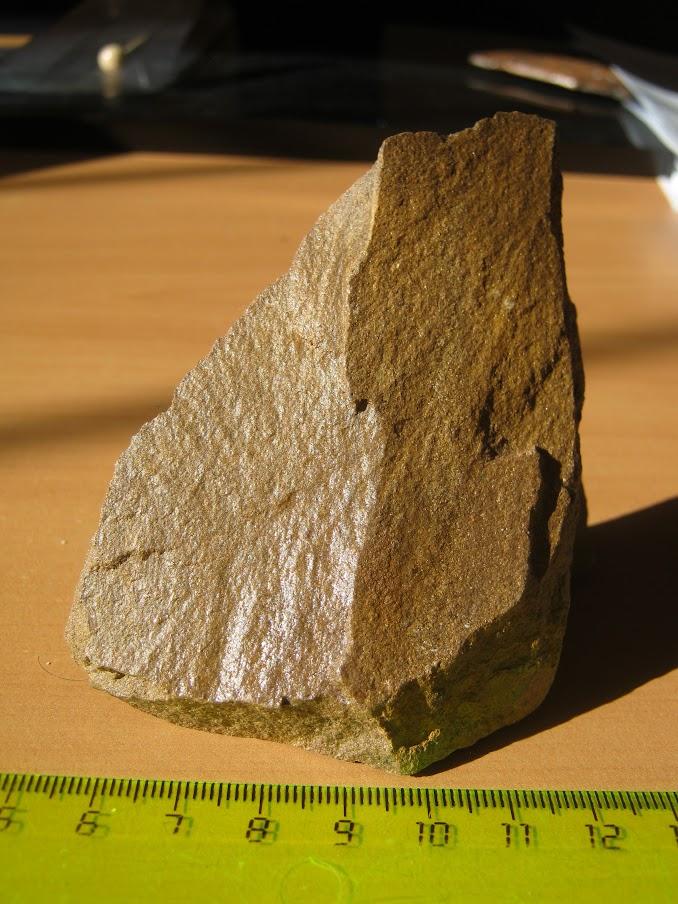 Золотосодержащий песчаник олонноконской свиты