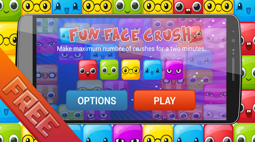 Fun Face Crush Game