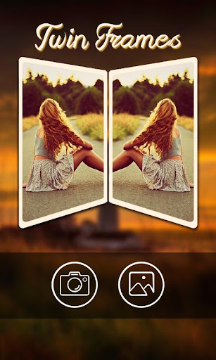 Twin Photo Frames