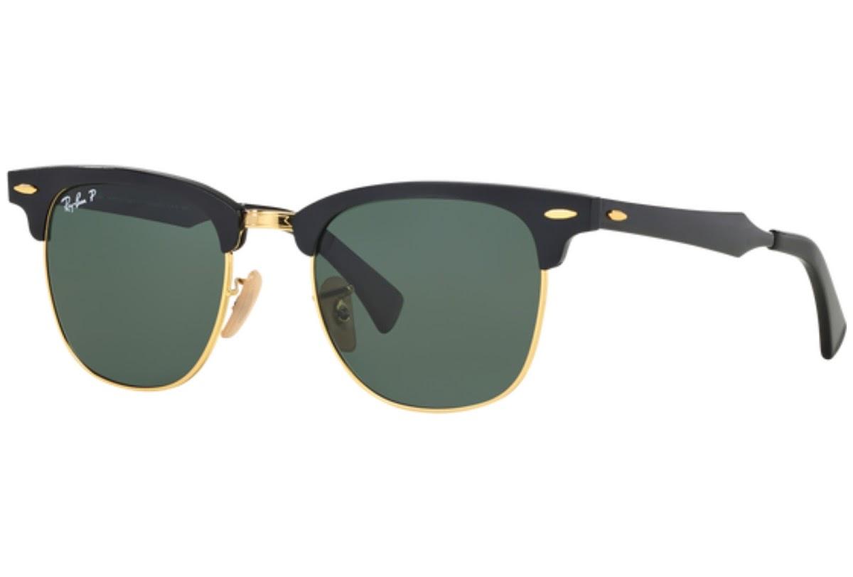 59952c61d0 Polarized Sunglasses Ray-Ban Clubmaster Aluminum RB3507 C51 136 N5