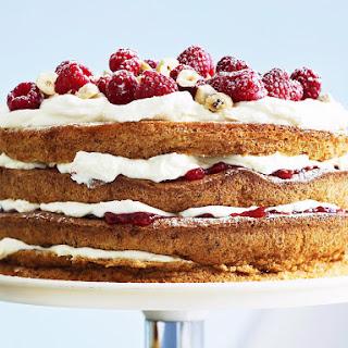 Flourless Hazelnut and Raspberry Torte