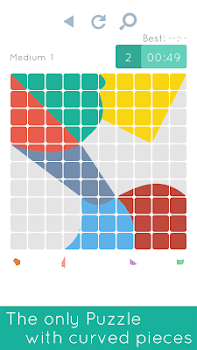 Blocks and Shapes: Color Tangram