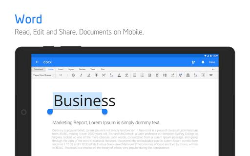 Polaris Office for LG 7.3.21 screenshots 10
