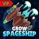 宇宙船育てる VIP - ギャラクシーバトル(Grow Spaceship) - Androidアプリ