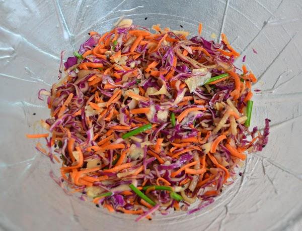 Ponzu-sesame Cabbage Slaw Recipe