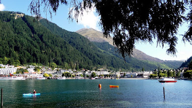 Photo: This is what Queenstown looked like from Queenstown Gardens.