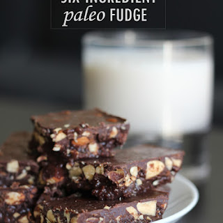 Six-Ingredient Paleo Fudge