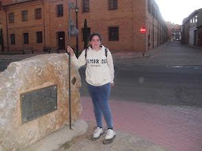 """Photo: Sahagún, """"centro del Camino"""""""