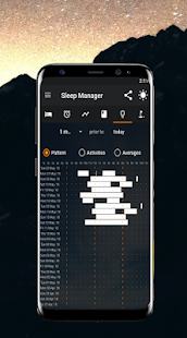 PrimeNap Sleep Tracker Screenshot