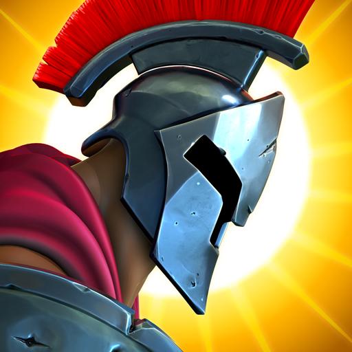 Olympus Rising: defesa heroica jogo de estratégia