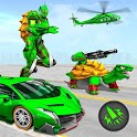 Turtle Robot Animal Rescue – Robot Car Transform icon