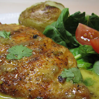Tomatillo Key Lime Chicken Sizzle
