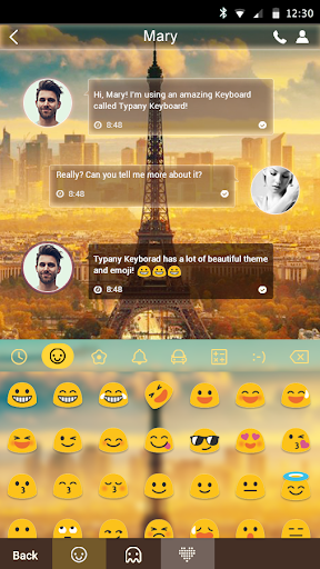 mod Dream Paris Theme Keyboard 4.5 screenshots 1
