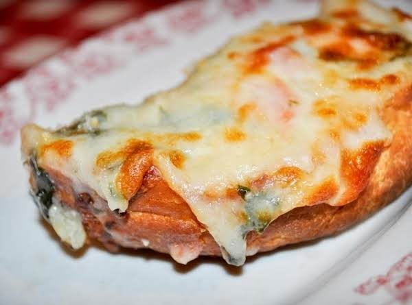 Cheesy Bread Florentine Recipe