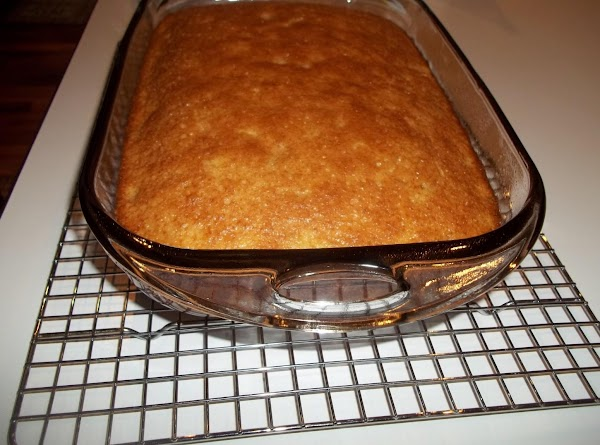 Pour into a greased 13-in. x 9-in. baking pan. Bake at 350° for 35-40...