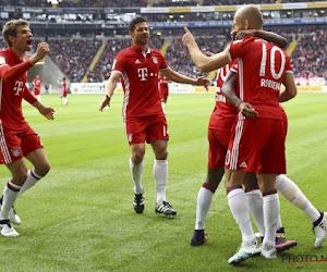 Bayern morst andermaal met punten, ook Gladbach (zonder Hazard) kan niet winnen