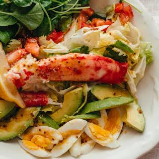 King Crab Cobb Salad.
