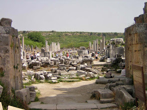Photo: Perge through Greek Gate