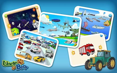 Kids Puzzle: Vehicles- screenshot thumbnail