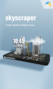 3D Mini Sky Super Widget Free screenshot 0