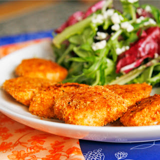 Seasoned Baked Chicken Nuggets Recipe