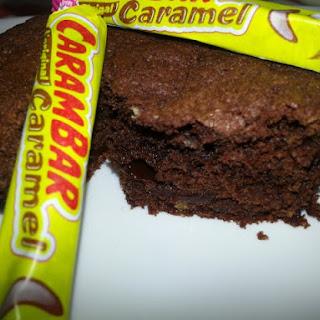 Carambar-Filled Chocolate Muffins Recipe