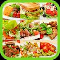 Вкусные салаты icon