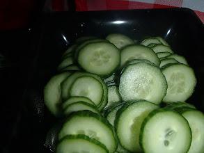 Photo: concombre