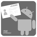 Import vCard Attachment DEMO icon