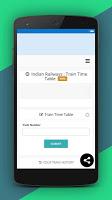 screenshot of Trains All Information