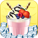 Fresh Milkshake Maker & Fruit Juice Drinking Game icon