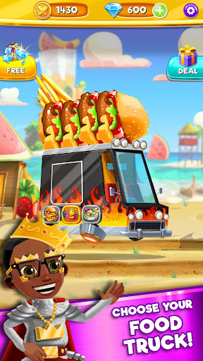 Foodgod's Food Truck Frenzy™ - screenshot