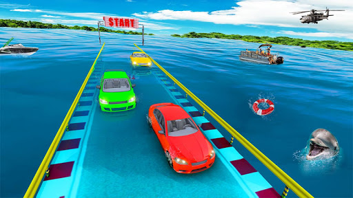 Prado Stunt Racing Car Games - 3D Ramp Car Stunts 1.0 screenshots 1