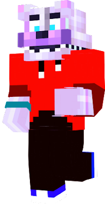 I'm back again. I did not create the skin, just the stuff he is wearing. Also the eyes are an edit.