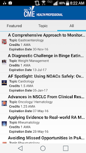 RealCME Health Professional- screenshot thumbnail