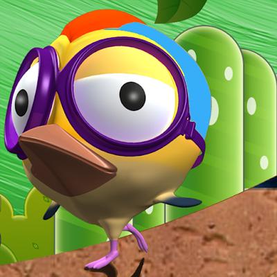 Crazy Hopper Bird