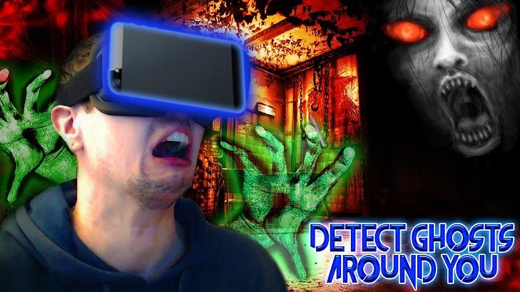 Virtual Reality Ghost Detector screenshot