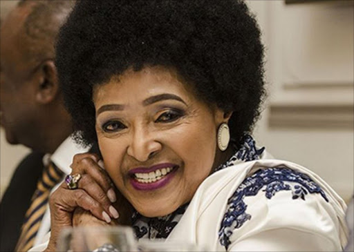 Winnie Madikizela Mandela stood firm againose that wanted to hijack the Release Mandela campaign Picture: FILE