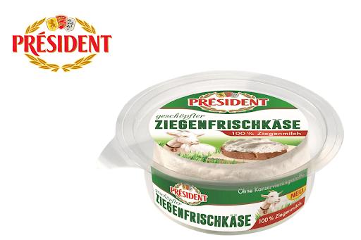 Bild für Cashback-Angebot: Président Ziegenfrischkäse